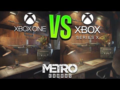 Metro Exodus Xbox One vs Xbox Series X Graphics Comparison - Metro Exodus Ray Tracing 60 FPS