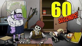 60 seconds! - Mutant Mary Jane and the Siberia Challenge -  60 Seconds Gameplay