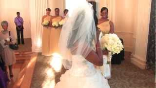"""First Time The Bride & Groom Seeing Each Other"""" jameelah and Rapheal"""""""