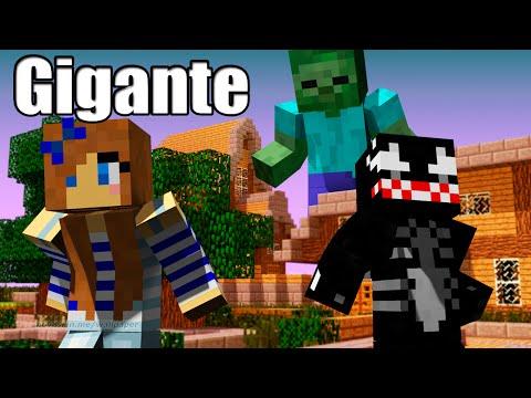 Terra de GIGANTES - Minecraft