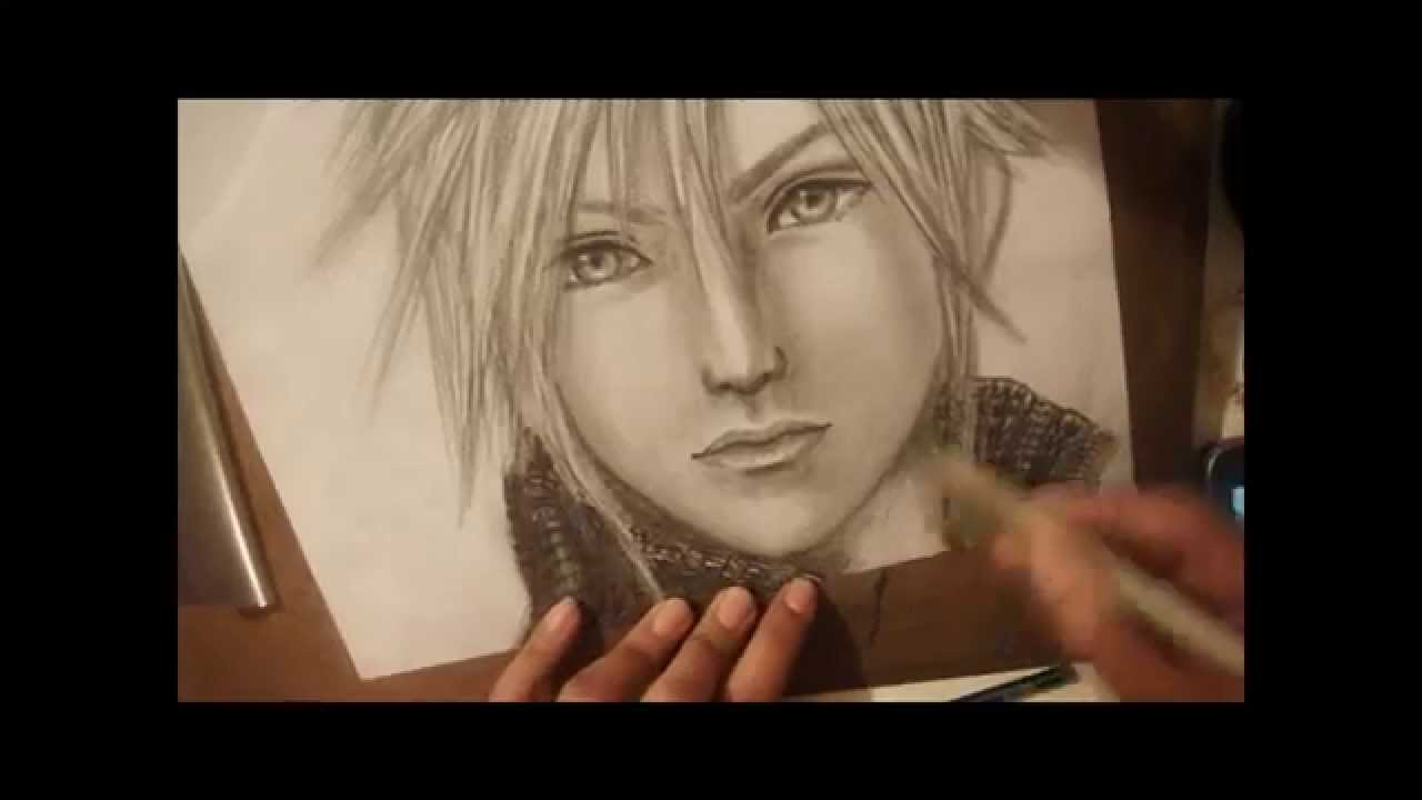 Fantasy Clouds Drawing Drawing Cloud Strife by
