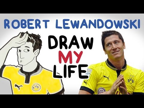 Robert Lewandowski | Draw My Life