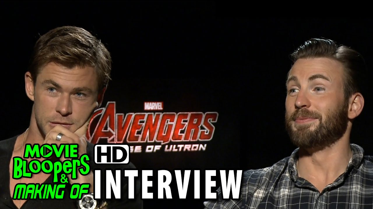 Avengers: Age of Ultron (2015) Official Movie Interview - Chris Hemsworth & Chris Evans