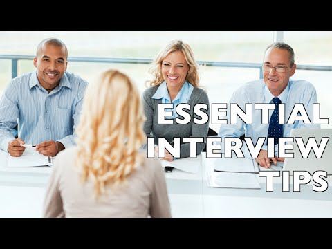 9 Essential Job Interview Tips - Job Interview Questions and Answers!