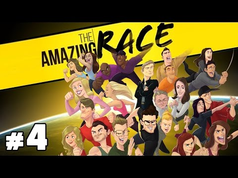 The Amazing Race Special Podcast with Burnie & Ashley #4