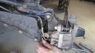 How to Bleed ATV Brakes - One Person Technique - Polaris Sportsman and Many Four Wheelers