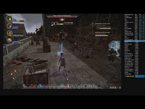 Dragon Age: Inquisition Any% Speedrun 3:08:37 (w/o loading screens)