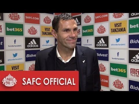 Gus Poyet's reaction after draw with Chelsea