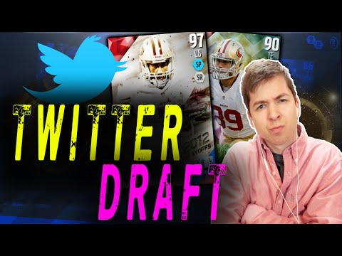 TWITTER PICKS MY DRAFT CHAMPIONS TEAM! MADDEN 16 ULTIMATE TEAM