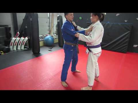 Dainis and Yacinta Nguyen - Ko Uchi Gari Throw for BJJ Image 1