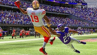 Madden 19 Career #2 | NFL Debut w/ Incredible One Handed Touchdown | Exposing Gridiron Bullies?