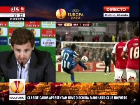 Conferência de Imprensa André Villas-Boas - FC PORTO CAMPEÕES UEFA EUROPA LEAGUE!