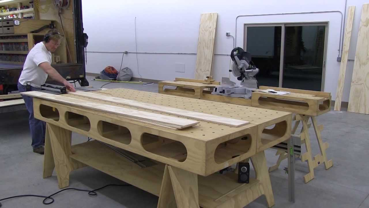 Plywood Work Table Plans Plans Diy Free Download Free