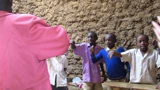 Kids Singing at Primary School - Lake Bunyonyi, Uganda