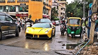 Supercars in India | 2018 August | Bangalore | GT2 RS, Novitec 458, 991.2 GT3
