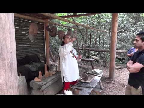 Cherokee, North Carolina, Part 1, Oconaluftee Indian Village, HD, 5-12-2012