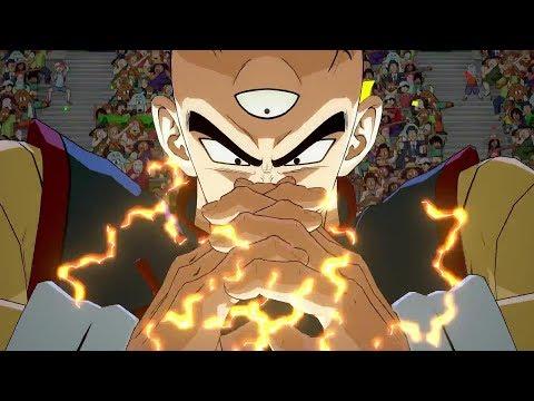DRAGON BALL FighterZ - Tien & Yamcha Gameplay Trailer