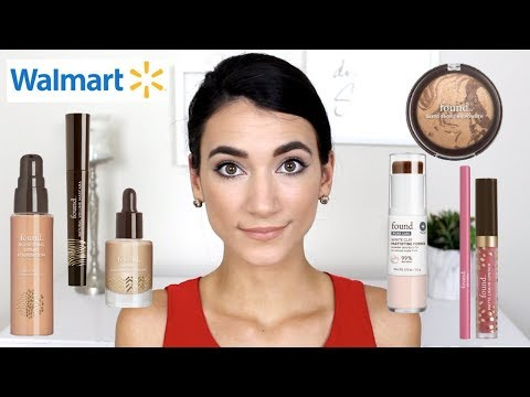 Chatty GRWM   Testing a New Walmart Makeup Brand