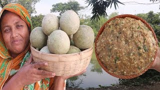 Farm Fresh Wood Apple Paste Recipe Bengali Kodbel Vortha Tasty Masala Wood Apple Mashed Village Food