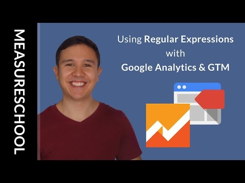 How to Use Regular Expressions with Google Tag Manager & Google Analytics