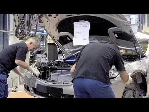 Eurozone factory output down in May - economy