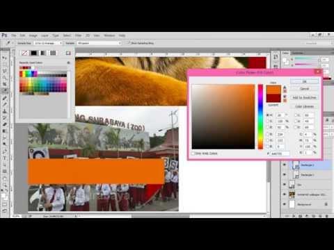 Cara Membuat Cover Majalah Melalui Photoshop Apak 2,119 views