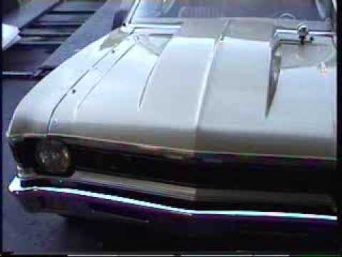 bad fast chevy nova drag/ street car idle and walk around cold motor idle at 1800 rpm