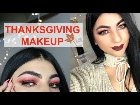 THANKSGIVING MAKEUP TUTORIAL 2017