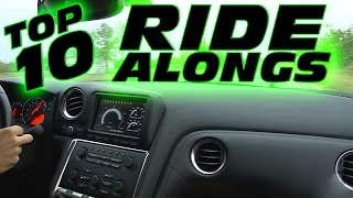TOP 10 Car Ride Alongs - Over 200mph!