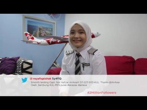 AirAsia Twitter: 2 Million Followers