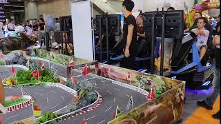 augment reality children car electronic ar game racing car