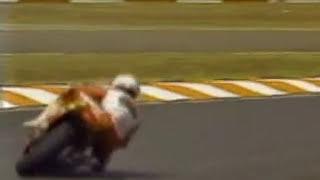 Randy Mamola CAGIVA GP500 DRIFT SHOW