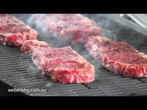 Grilling Steaks on your Weber® Q™