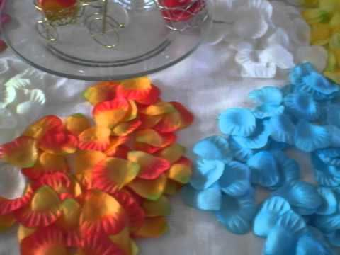 Petalos de rosas decorativas artificiales youtube - Plantas artificiales decorativas ...