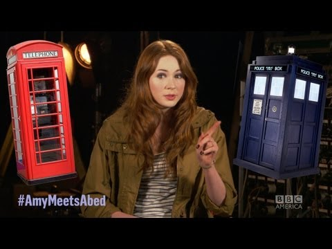 Karen Gillan Talks Inspector Spacetime!