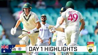 Labuschagne, Pucovski fifties boost Aussies amid the rain | Vodafone Test Series 2020-21
