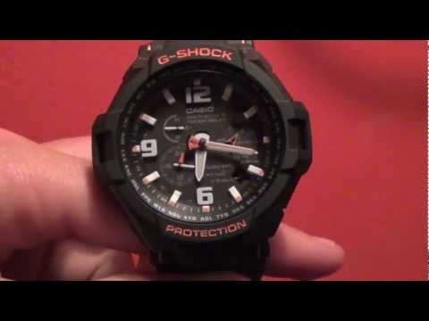 Review/Setting the G-Shock GW4000-1A [HD]