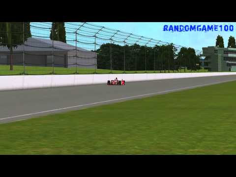 rFactor - Izod IndyCar 2013 Sebastien Bourdais Indy 500 Practice