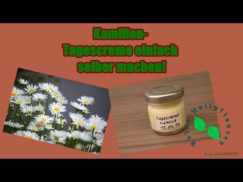 Tagescreme ganz einfach selber machen|Pflegende Creme|mit Kamille & Bio Pflanzenöl