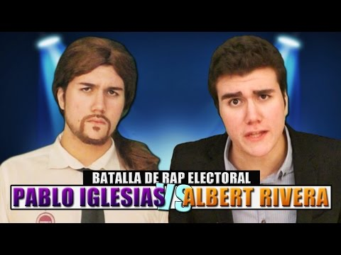 Pablo Iglesias vs Albert Rivera. #BatallaDeRapElectoral | Keyblade