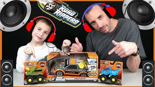 Road Rippers Street Beatz and Rev-Up Monsters Kids Toy Cars and Trucks Review!  Lights and Sounds!