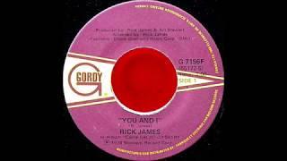 Rick James - You & I (single mix) (1978)