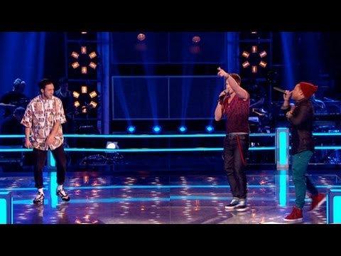 The Voice UK 2013 | Danny County Vs De'Vide - Battle Rounds 2 - BBC One