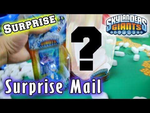 RARE Skylanders Surprise in Mail (from Activision)
