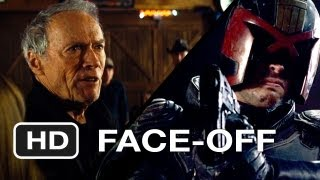 Dredd - Dredd 3D vs. Trouble With The Curve - Movie Face-Off - Gravel-Voiced One-Liners HD