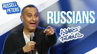"""""""Russians""""    Russell Peters - Almost Famous"""