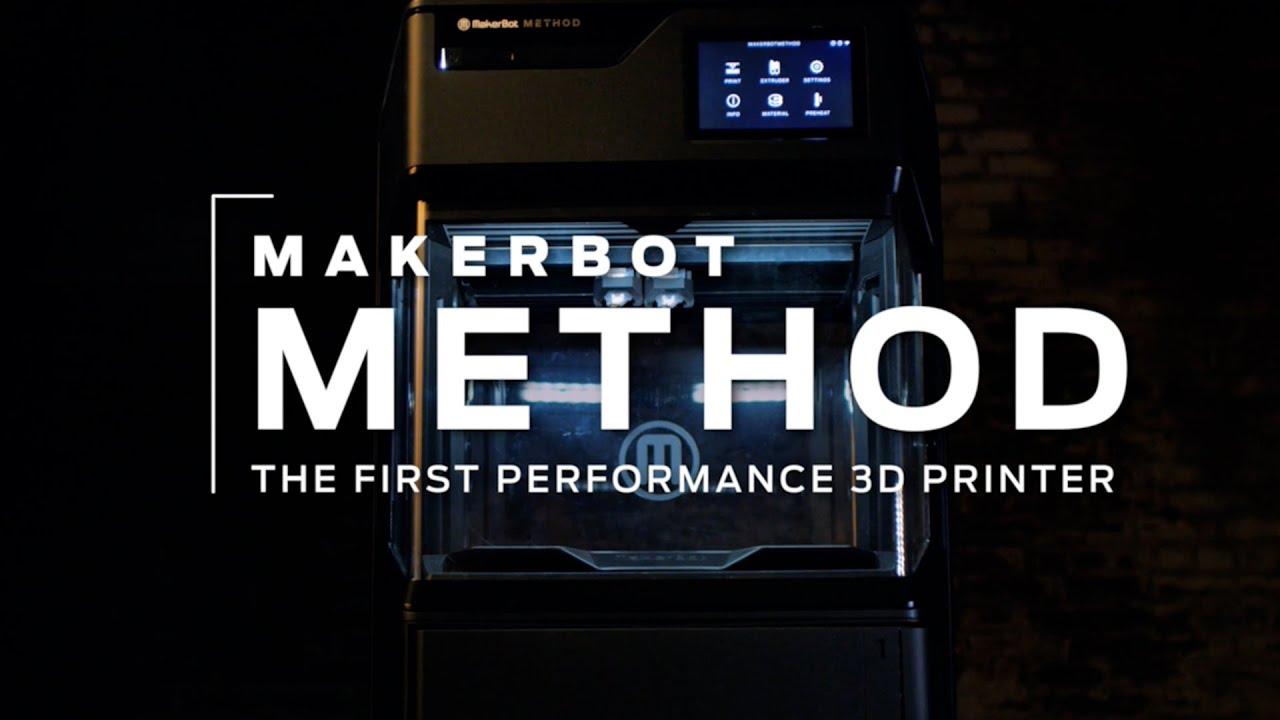 Next-Generation Desktop 3D Printing | Makerbot METHOD
