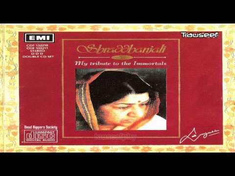 Latas tribute to Kishore kumar (Shardhanjali) - KOI HAMDAM NA...