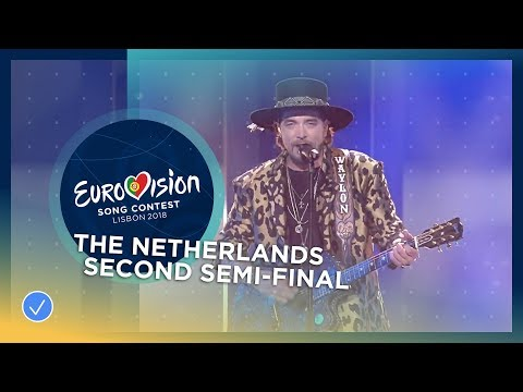 Waylon - Outlaw In 'Em - The Netherlands - LIVE - Second Semi-Final - Eurovision 2018