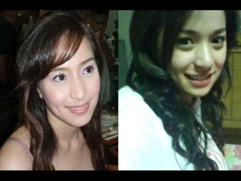 Pinay Celebrities (With & Without make-up) Music Videos